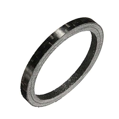 3mm fibre de carbone de vŽlos Bike casque laveuse rŽglŽ vŽlo en fibre de carbone Joint