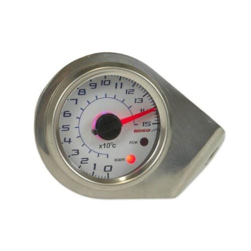 KOSO Temperature Gauge GP style D48 Thermomètre Max 150 °C