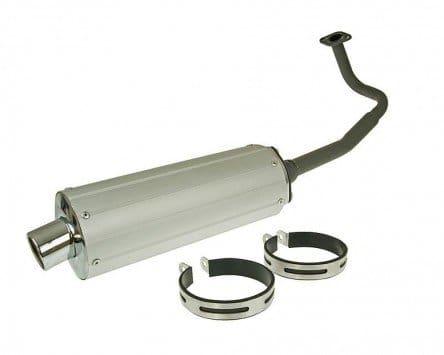 Pot d'échappement 2EXTREME Aluminium – FLY SCOOTERS IL Bello 50 4T