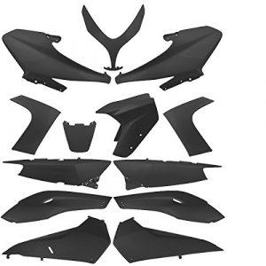 TNTOR Kit Carrosserie Adaptateur Yamaha Tmax à Peindre, 13 Pièces