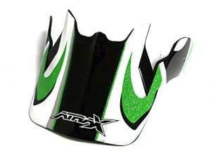 Visière casque moto cross ATRAX – Vert