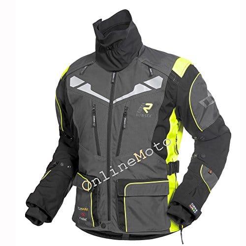 2017 Rukka Orivesi moto veste gris/jaune
