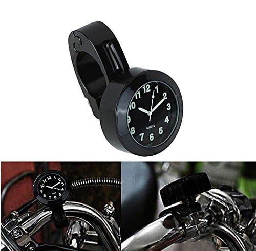 39 ict ronix 7 8 1universal motorraduhr horloge montres cadran horloge pour moto guidon de v lo. Black Bedroom Furniture Sets. Home Design Ideas