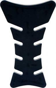 Protège-réservoir pour moto, style sport, effet 3D, couleur noir