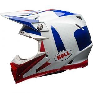 Bell casques MX 2017Moto-9Étau Flex casque pour adulte, Bleu/rouge, taille Medium