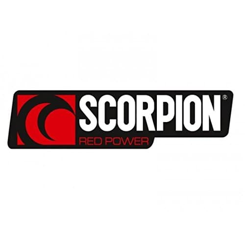 Autocollant scorpion format paysage 35x125mm – Scorpion 980221