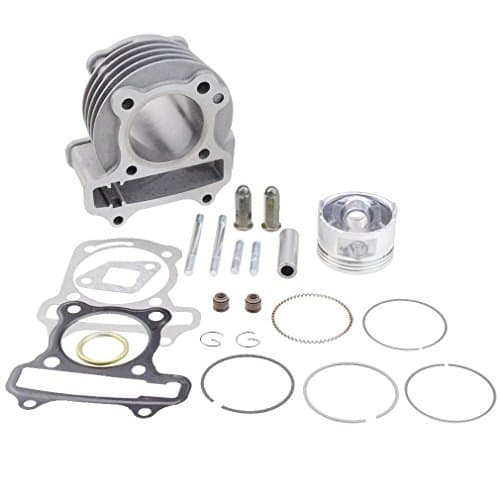 Goofit performance big bore cylinder kit gy6 80cc 47mm for Go kart interieur