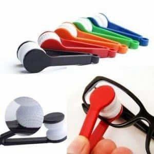 mini-verres en microfibre lunettes de soleil outils de pinceau plus propres