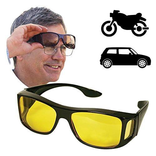 surlunettes lunettes de conduite de nuit auto et moto lunettes de vision nocturne vision. Black Bedroom Furniture Sets. Home Design Ideas