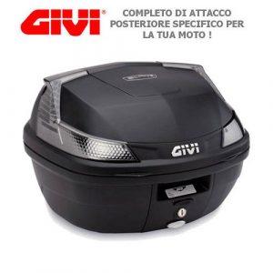 Top Case Givi b37NT Blade Tech + 338F + mm pour yamaha yZF 600thunder cat 1997