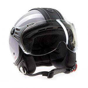 Ato Helme Lunettes Moto Avec Casque Daviateur Rétro Xl 61 Cm
