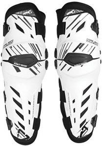 LEATT Dual Axis Knee Guard – Genouillères – L/XL, Blanc