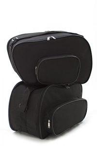 Poches intérieures, sacoche pour valises latérales moto BMW R850 R, R850 RT, R1100 R, R1100 RS, R1100 RT, R1100 S, R1100 GS, R1150 R, R1150 RS, R1150 RT, R1150 GS, K1200 RS / GT — # No: 10 # —