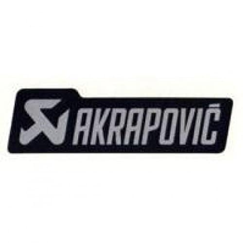 Akrapovic logo sticker 135 x 40 mm black/grey – p-hst4al… – Akrapovic 18601006