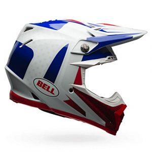 Bell casques MX 2017Moto-9Étau Flex casque pour adulte, Bleu/rouge, taille 2x L