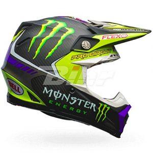 7084380 – Bell Moto-9 Flex Monster Pro Circuit 17 Motocross Helmet M Black Green