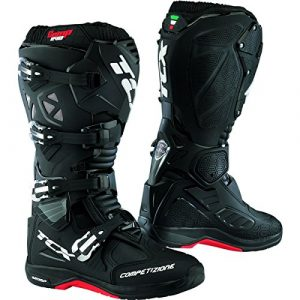 9661 – TCX Comp Evo Michelin Motocross Boots 45 Black (UK 10)