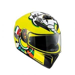 Casque de moto AGV K3 Sv Misano 2001 Valentino Rossi