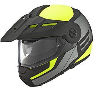 Casque de moto de jaune de gardien de Schuberth E1