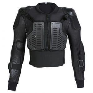 Veste avec protection dorsale – enfant – pour moto/sport – 6 ans – tour de poitrine 66 cm