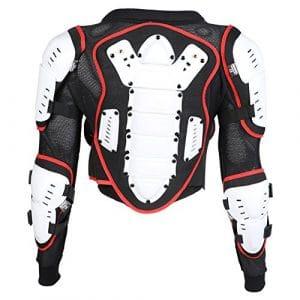 Veste de protection de moto – enfant – 4/6/8/10 ans – 8 ans – tour de poitrine 71 cm