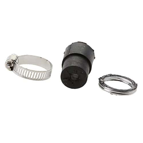 magideal joint pince clamp pour tuyau silencieux d 39 chappement en caoutchouc pour yamaha pw50. Black Bedroom Furniture Sets. Home Design Ideas