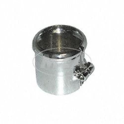 Collier de serrage avec bourrelet pour pot d'échappement, ø = 40mm, chromé compatible avec BK350