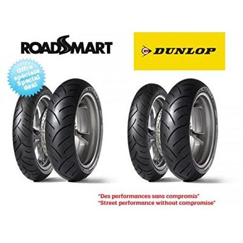 Pack de 4 pneus sport-touring dunlop roadsmart (2x 120/70… – Dunlop 5740020003
