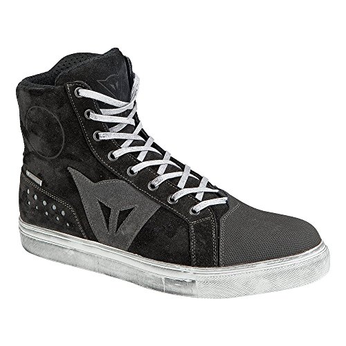 Dainese-STREET BIKER D-WP Chaussures, Noir/Anthracite, Taille 42